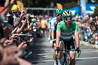 green jersey Peter Sagan (SVK/Bora Hansgrohe) pre race<br /> <br /> Stage 4: Reims to Nancy (215km)<br /> 106th Tour de France 2019 (2.UWT)<br /> <br /> ©kramon