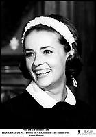Prod DB © Filmsonor / DR<br /> LE JOURNAL D'UNE FEMME DE CHAMBRE (LE JOURNAL D'UNE FEMME DE CHAMBRE) de Luis Bunuel 1964 FRA/ITA<br /> avec Jeanne Moreau<br /> servante, portrait, rire