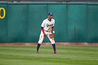 Cedar Rapids Kernels outfielder Byron Buxton #7 during a game against the Lansing Lugnuts at Veterans Memorial Stadium on April 29, 2013 in Cedar Rapids, Iowa. (Brace Hemmelgarn/Four Seam Images)