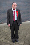 © Joel Goodman - 07973 332324 . 27/01/2014 . Manchester , UK . MIKE KANE at the launch of his campaign for the Wythenshawe East and Sale by-election at the Woodhouse Park Lifestyle Centre in Wythenshawe , today (27th January 2014) . Photo credit : Joel Goodman