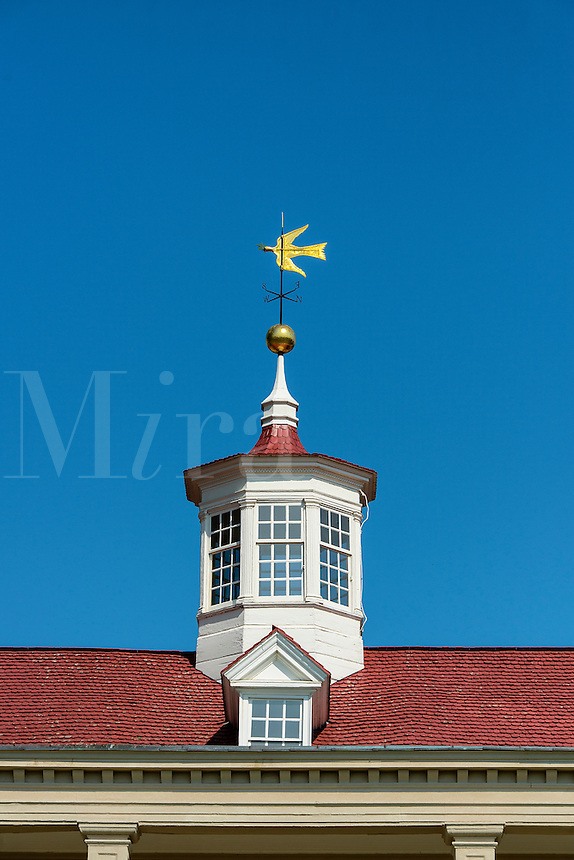 Main house cupola, Mt Vernon, Virginia, USA