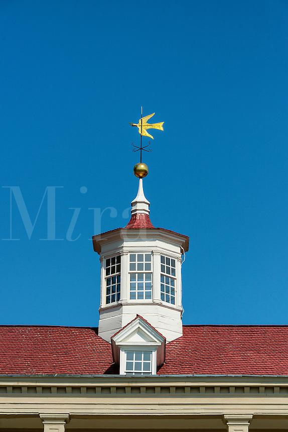 Main house cupola, Mt Vernon, Virginia, USA
