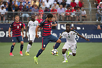 East Hartford, CT - Saturday July 01, 2017: Kenny Saief during an international friendly match between the men's national teams of the United States (USA) and Ghana (GHA) at Pratt & Whitney Stadium at Rentschler Field.