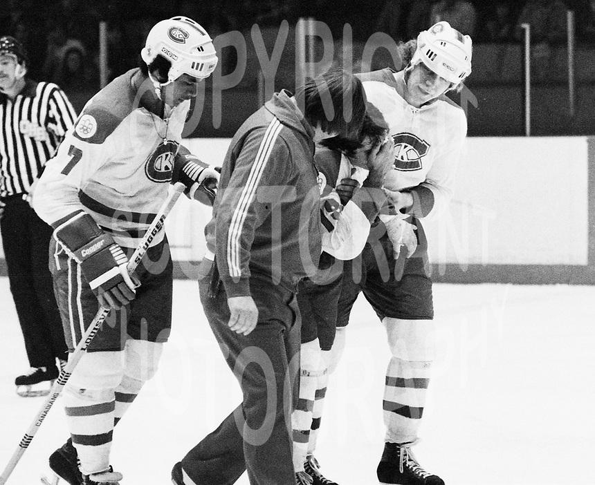Brian Crombeen Kingston Canadians 1977. Photo Scott Grant