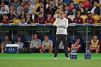 26.05.2018,  Football UEFA Champions League Finale 2018, Real Madrid - FC Liverpool, Olympiastadium Kiew (Ukraine). Trainer Juergen Klopp (FC Liverpool) dejected *** Local Caption *** © pixathlon<br /> <br /> Contact: +49-40-22 63 02 60 , info@pixathlon.de