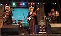 """voz-FoodCityFiestas0919 091407 Members from the group """"Los Originales Cadetes de Linares"""" (cq) performing at the Food City Fiestas Patrias in Phoenix, on Friday, Sept. 14, 2007.  Photo by AJ Alexander/La Voz"""