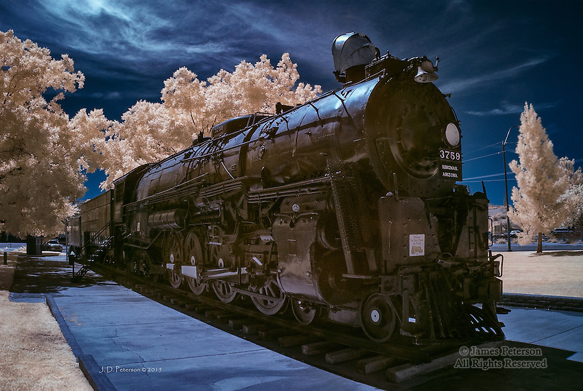 Old 3759, Kingman, Arizona (Infrared)