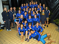 Session ten on day five of the 2017 National Age Group Swimming Championships at  Wellington Regional Aquatic Centre in Wellington, New Zealand on Saturday, 25 March 2017. Photo: Dave Lintott / lintottphoto.co.nz