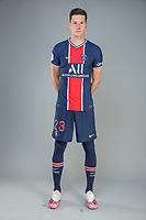 14th October 2020, Paris, France; Official League 1 player portrait for Paris Saint Germain;  DRAXLER Julian