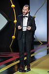 Ruben Ochandiano during the official ceremony of the 63rd Donostia Zinemaldia Festival (San Sebastian International Film Festival) in San Sebastian, Spain. September 26, 2015. (ALTERPHOTOS/Victor Blanco)