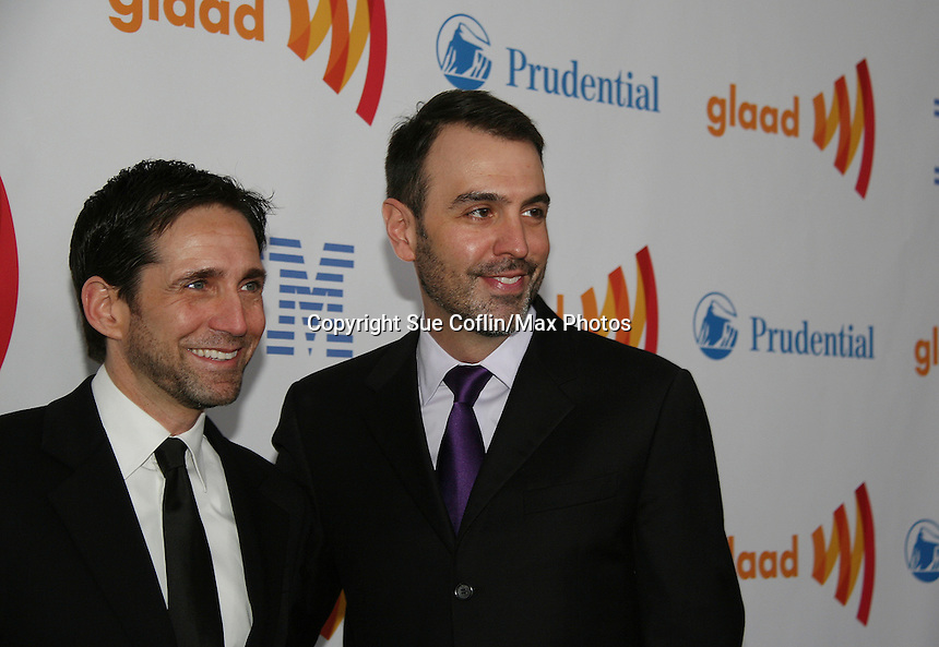 at the 21st Annual GLAAD Media Awards on March 13, 2010 at the New York Marriott Marquis, New York City, NY. (Photo by Sue Coflin/Max Photos)