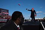 Trump campaign rally in Avoca, Pennsylvania