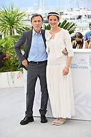CANNES, FRANCE. July 12, 2021: Tim Roth & Vicky Krieps at the photocall for Bergman Island at the 74th Festival de Cannes.<br /> Picture: Paul Smith / Featureflash