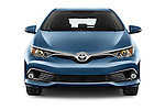 Car photography straight front view of a 2015 Toyota Auris Dynamic 5 Door Hatchback Front View