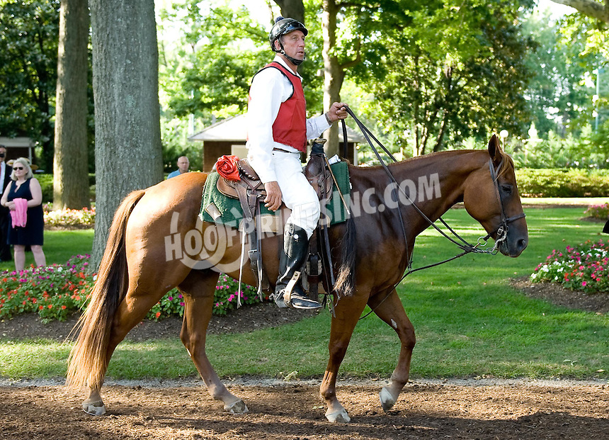 Lance before The Kent Breeders' Cup Stakes (Gr 3) at Delaware Park on 9/5/09