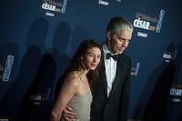 Georges Clooney et sa femme ‡ la 42e CÈrÈmonie des CÈsars ‡ l'arrivÈe sur le tapis rouge de la salle Pleyel ‡ Paris le 24 fÈvrier 2017