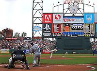 MLB Baseball: San Diego Padres vs. San Francisco Giants<br /> Game Action<br /> AT and T Park/San Francisco, CA, USA<br /> 6/25/2014<br /> X158419 TK1<br /> Credit: Brad Mangin