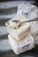 Gastronomie générale/ Diététique / , Ricotta  fresca di  buffala bio  //  General gastronomy / Dietetics /, Ricotta fresca di buffala bio