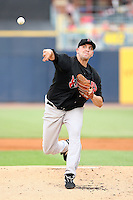 June 12th 2008:  Pitcher Ty Taubenheim of the Indianapolis Indians, Class-AAA affiliate of the Pittsburgh Pirates, during a game at Fifth Third Field in Toledo, OH.  Photo by:  Mike Janes/Four Seam Images