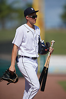 Detroit Tigers Parker Meadows (17) after a Florida Instructional League intrasquad game on October 24, 2020 at Joker Marchant Stadium in Lakeland, Florida.  (Mike Janes/Four Seam Images)