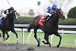 Casper's Touch with Alan Garcia up wins the 8th race at Keeneland Race Course. Lexington, KY. 04.08.2011