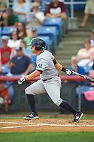 Trenton Thunder left fielder Mark Payton (11) during a game against the Binghamton Mets on May 29, 2016 at NYSEG Stadium in Binghamton, New York.  Trenton defeated Binghamton 2-0.  (Mike Janes/Four Seam Images)