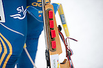 MARTELL-VAL MARTELLO, ITALY - FEBRUARY 02: After the Women 7.5 km Sprint at the IBU Cup Biathlon 6 on February 02, 2013 in Martell-Val Martello, Italy. (Photo by Dirk Markgraf)