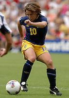 Hanna Ljungberg, 2003 WWC USA Sweden.