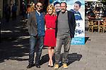 "Dani Rovira, Alexandra Jimenez, Karra Elejalde during the photocall with the arctor of the film ""100 METROS"" at Paz cinema in  Madrid, Spain. November 02, 2016. (ALTERPHOTOS/Rodrigo Jimenez)"