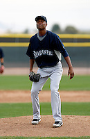Jose Lugo -  Seattle Mariners - 2009 spring training.Photo by:  Bill Mitchell/Four Seam Images