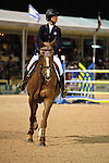 Reed Kessler on Cylana at the USEF trials, USEF Trial #4,  USEF trials Wellington Florida. 3-24-2012. Photo by Arron Haggart/Eclipse Sportswire