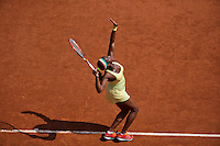 France, Paris, 31.05.2014. Tennis, French Open, Roland Garros, Sloane Stephens (USA)  (RUS)<br /> Photo:Tennisimages/Henk Koster