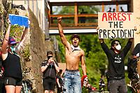 Anti-Trump Protest - July 4