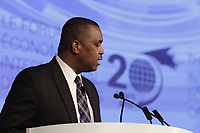 John Yearwood, <br /> World Editor, the Miami Herald; Chairman, IPI North American Committee; Editor, Issues & Ideas, the Miami Herald   <br /> attend the International Economic Forum of the Americas 20th Edition, from June 9-12, 2014 <br /> <br />  Photo : Agence Quebec Presse - Pierre Roussel