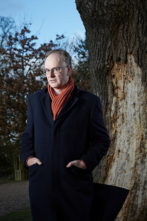 © John Angerson 150114<br /> Viscount Matt Ridley photographed in Richmond Park, London. <br /> 5th Viscount Ridley was born 7 February 1958 He is a author, businessman and a Conservative member of the House of Lords.