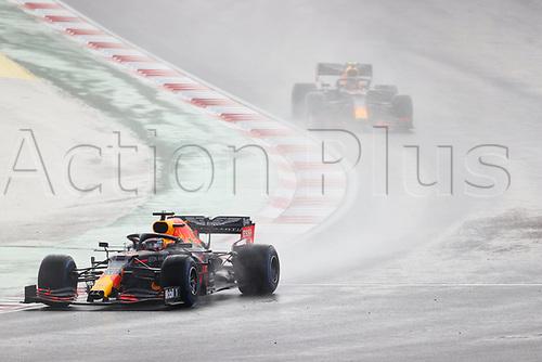 15th November 2020; Istanbul Park, Istanbul, Turkey; FIA Formula One World Championship 2020, Grand Prix of Turkey, Race Day;  33 Max Verstappen NLD, Aston Martin Red Bull Racing