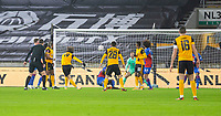 8th January 2021; Molineux Stadium, Wolverhampton, West Midlands, England; English FA Cup Football, Wolverhampton Wanderers versus Crystal Palace; Fabio Silva of Wolverhampton Wanderers takes a shot at goal but over the bar