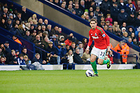 Saturday, 9 March 2013<br /> <br /> Pictured: Angel Rangel of Swansea City<br /> <br /> Re: Barclays Premier League West Bromich Albion v Swansea City FC  at the Hawthorns, Birmingham, West Midlands