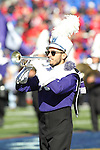 December 30, 2016: A TCU band member performing at halftime of the AutoZone Liberty Bowl inside Liberty Bowl Memorial Stadium in Memphis, Tennessee. ©Justin Manning/Eclipse Sportswire/Cal Sport Media