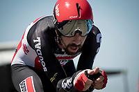 Thomas De Gendt (BEL/Lotto Soudal)<br /> <br /> Stage 20 (ITT) from Libourne to Saint-Émilion (30.8km)<br /> 108th Tour de France 2021 (2.UWT)<br /> <br /> ©kramon