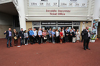 Pictured: Supporters Trust. Saturday 22 September 2014<br />