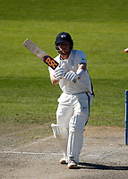 30th May 2021; Emirates Old Trafford, Manchester, Lancashire, England; County Championship Cricket, Lancashire versus Yorkshire, Day 4; Dom Bessof Yorkshire plays a straight drive