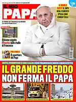 Il Mio Papa Italian Magazine Pope Francis.<br /> Photograph by Stefano Spaziani