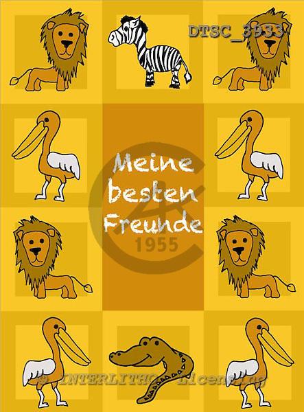 Hans, CUTE ANIMALS, paintings+++++,DTSC3933,#AC# deutsch, illustrations, pinturas