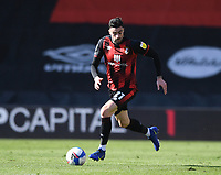 2nd April 2021; Vitality Stadium, Bournemouth, Dorset, England; English Football League Championship Football, Bournemouth Athletic versus Middlesbrough; Diego Rico of Bournemouth brings the ball forward