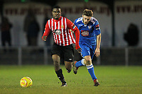 Thomas Gogo in action for Hornchurch - AFC Hornchurch vs Tonbridge Angels - Ryman League Premier Division Football at the Stadium, Upminster Bridge  - 20/12/14 - MANDATORY CREDIT: Gavin Ellis/TGSPHOTO - Self billing applies where appropriate - contact@tgsphoto.co.uk - NO UNPAID USE