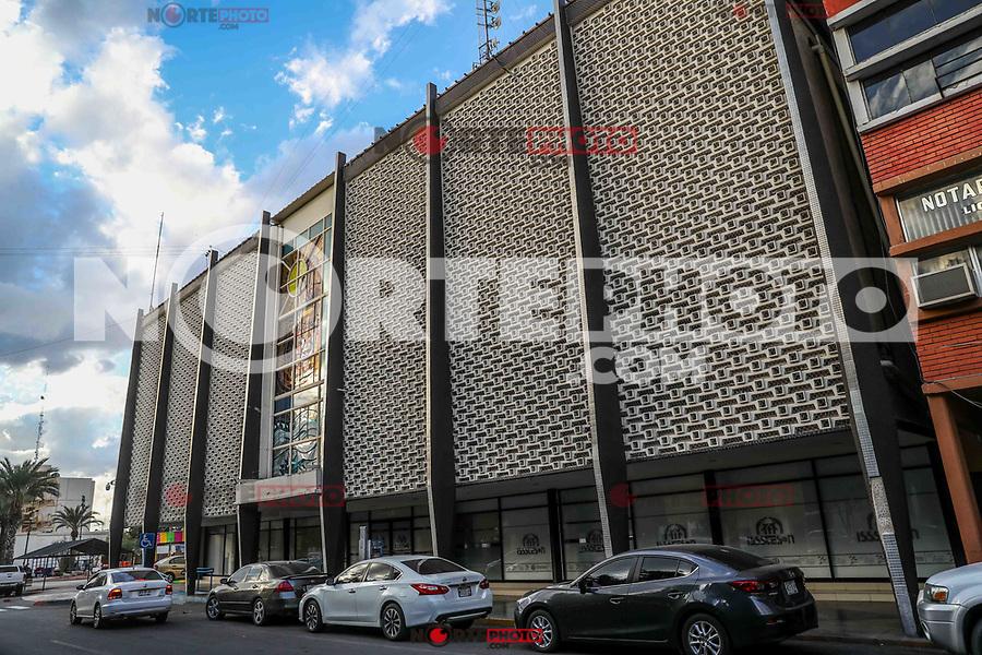 Facade of the ISSSTESON building in Hermosillo, Mexico  (Photo: Luis Gutierrez)<br /> (Photo by Luis Gutierrez / NortePhoto)<br /> <br /> Fachada del edificio del ISSSTESON en Hermosillo, Mexico (Foto: Luis Gutierrez )<br /> (Photo by Luis Gutierrez / NortePhoto)