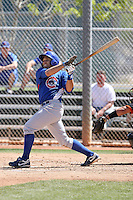Greg Rohan, Chicago Cubs minor league spring training..Photo by:  Bill Mitchell/Four Seam Images.