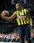 Fenerbahce Ulker Istambul's Andrew Goudelock during Euroleague Semifinal match. May 15,2015. (ALTERPHOTOS/Acero)