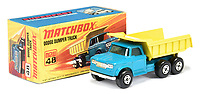 BNPS.co.uk (01202) 558833.<br /> Pic: VectisAuctions/BNPS<br /> <br /> Pictured: This little truck sold for a £6,240  <br /> <br /> A man who spent 30 years building an epic collection of Matchbox toy cars is celebrating today after it sold for £480,000.<br /> <br /> Graham Hamilton, 55, fell in love with the miniature toys as a child and would put them back in their boxes after playing with them.<br /> <br /> He began collecting seriously in his early 20s after retrieving a box of his treasured toys from his parents' loft.<br /> <br /> Graham spent over £100,000 acquiring 1,800 Matchbox cars, which was virtually every one made at Matchbox's old Lesney factory in London<br /> between 1962 and 1982.